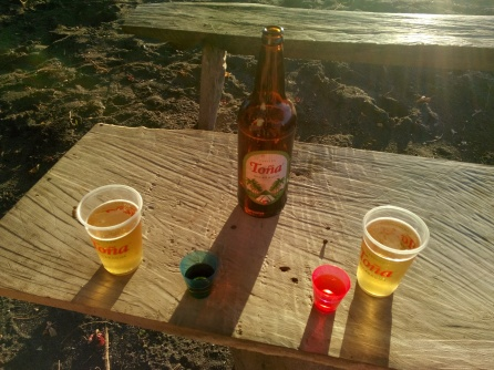 Øl i solen