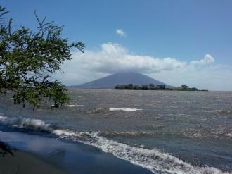 Vulkanen Maderas sør på øya