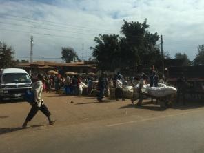 Marked langs veien