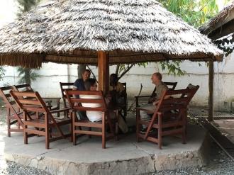 Lunsj i Arusha