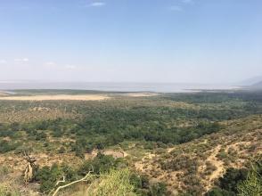 Utsikt mot Manyarainnsjøen