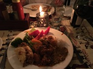 Middagsbuffét på Highview