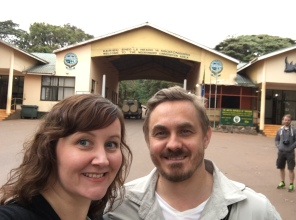 Inngangsporten til Ngorongoro verneområde