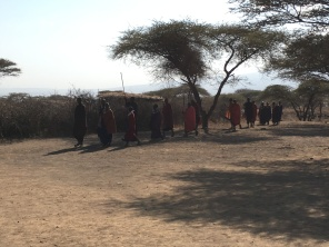 Masaienes velkomstdans