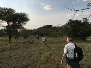 Ankommet Ikoma Wildcamp