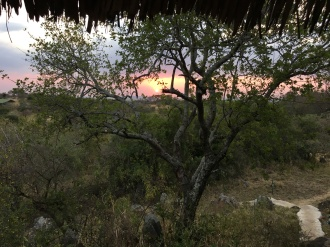 Solnedgang i Ikoma