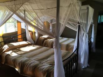 Sengene i teltet