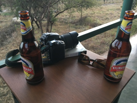 Øl på balkongen