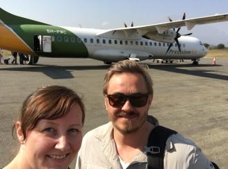 Ombordstigning i Arusha